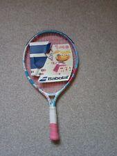 """Babolat 19"""" Junior aluminium Tennis Racket 520cm² 81 Square inches 157g 5.5oz"""