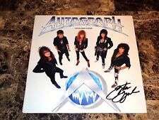 Autograph Rare Signed Vinyl LP Record Loud And Clear Hard Rock Metal Steve Lynch