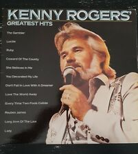 Kenny Rogers Greatest Hits 1980 Record LP Original Inner Sleeve Vintage Record