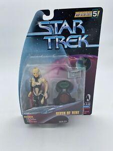 Star Trek Warp Factor Series 5 Seven of Nine playmates the next generation TNG