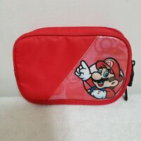 Nintendo DS DSi 3DS XL Super Mario Official Red Carry Carrying Case