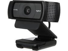 Logitech C920 USB 2.0 certified (USB 3.0 ready) HD Pro Webcam - Black