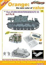 DRAGON 9123 1/35 15cm Sturm-Infanteriegeschütz 33 auf. PzIII ( Magic Tracks )