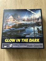 """Bits And Pieces Glow in the dark puzzle, 1000 pieces """"All is bright""""New Sealed"""