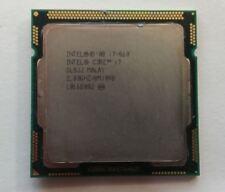 Intel SLBJJ Core i7-860 2.80GHz/1MB/8MB Socket 1156 CPU Processor LGA1156