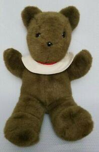 Mary Meyer Vintage Brown Bear Plush Stuffed Animal Made In Korea