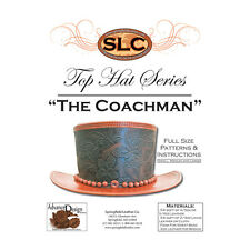 Springfield Leather Company Advance Design The Coachman Leather Top Hat Pattern