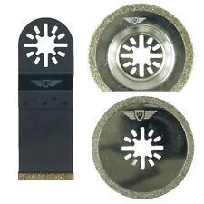 3 X MIX DIAMOND LAME PER FEIN MULTIMASTER Bosch Ryobi sfida Multi Tool
