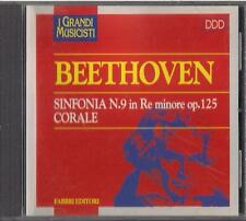CD - FRATELLI FABBRI  I GRANDI MUSICISTI - BEETHOVEN - corale