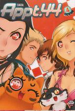 APPT. 44 tomes 1 à 4 Dara SERIE COMPLETE  APPARTEMENT 44 manga