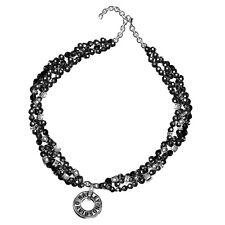 Harley-Davidson Ladies Black Onyx Necklace - NEW
