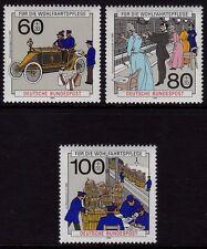 W GERMANIA 1990 postale di consegna e di comunicazioni telefoniche SG 2323-2325 MNH