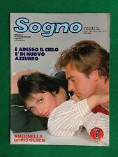 Fotoromanzo Lancio SOGNO 1986 n.50 , ANTONELLA CHRIS OLSEN