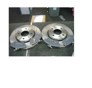 MCC SMART FORFOUR FRONT BRAKE DISCS AND PADS