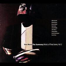 Eddie Daniels : One More: The Summary Music of Thad Jone CD