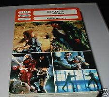 p- Highlander French film trade card
