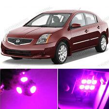8 x Premium Hot Pink LED Lights Interior Package Kit for Nissan Sentra