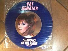 "Blue Vinyl Pat Benatar - Shadows Of The Night - 12"" Blue Vinyl"