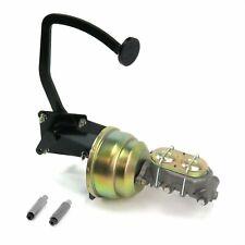41-48 Ford 8 Dual Brake Pedal kit Disk/Drum3in Blk Pad