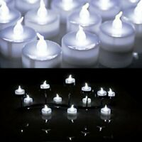 24 X LED Flameless Tea Light Tealight Candle Wedding Decoration Battery Included