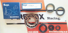 Aprilia RS125 Koyo Crank / Crankshaft Main Bearing & Seal Kit Rotax 122 & 123