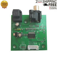 Audio Board I2S Input To SPDIF Coaxial Output Optical Board Support 44.1K-192K