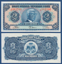 Haïti 2 gourdes l.1919 unc p.201