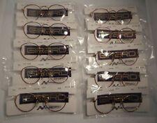 10 Pc. Girard 6828 Red 44/20 Teen Eyeglass Frame Lot New Old Stock #373