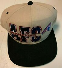 New England Patriots Starter AFC Champions Snap Back Hat NFL