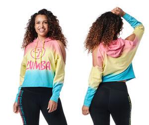 Zumba Dreamer Cold Shoulder Sweatshirt ~ Small, Medium, XL ~  Free Ship!