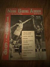 1967-1968 NBA SPORTING NEWS OFFICIAL NATIONAL BASKETBALL ASSOCIATION GUIDE