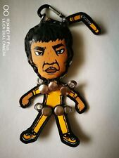 [Hand-Made] Charter Movie Key Chain Ornament Accessory - Bruce Lee