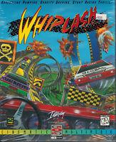 PC Big Box CD-ROM Game Whiplash 1996 Gremlin Interactive Interplay NIB NOS