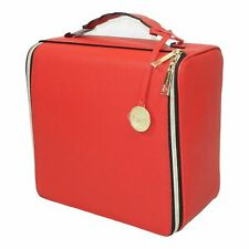 Estee Lauder Christmas Train Case (2018 Red) Large Space BIN