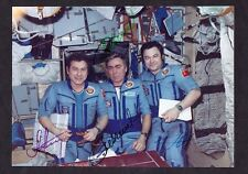 "1987  ""SOYUZ TM-3""  Crew landing Autographs TOP-LOT"