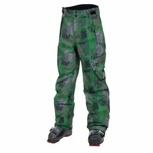 NEW $110 BOYS ROSSIGNOL CARGO SKI/SNOWBOARD INSULATED PANTS