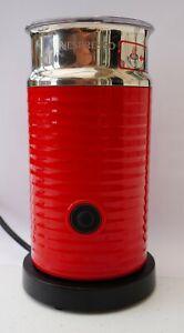 Red Nespresso Milk Frother Aeroccino 3