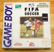 FIFA INTERNATIONAL SOCCER - GAMEBOY GB GAME BOY - PAL ESPAÑA - 94 1994