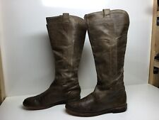 VTG WOMENS FRYE RIDING GREENISH BOOT SIZE 8.5 B