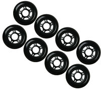 Outdoor Rollerblade Inline Hockey Fitness Skate Wheels 76mm 82A Set of 8
