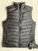 Under Armour Storm ColdGear Iso 700 Fill Goose Down Vest Black Size L NWT $180