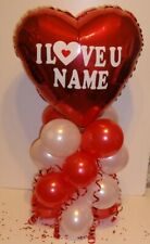 BALLOON TABLE DISPLAY BIRTHDAY MOTHER DAY AIR FILL PERSONALISED ANY MESSAGE