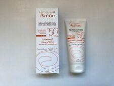 Avene Sun Care SPF 50+ Mineral Milk 100ml intolerant skins