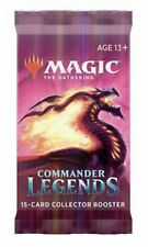 Commander Legends Collector Booster Pack CMR MTG Sealed English New From Box