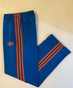 Adidas Originals ADI-Firebird Track Pants Blue Orange Size XL X52481