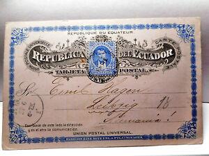 Ecuador - Ganzsachen  1895 - top