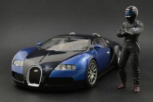 The black STIG (2) Figura per 1:18 Autoart Mercedes VERY RARE  !! NO CAR !!