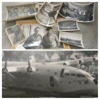 Photo avion SNCASE  SE 200 pilote essai 1942 /1946 Pierre decroo