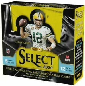 **READ**2020 Panini Select NFL One Hobby Box Random Team Break #2**READ**