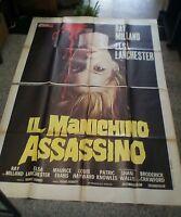 Die Schaufensterpuppe Mörderin Manifesto 4F Original 1975